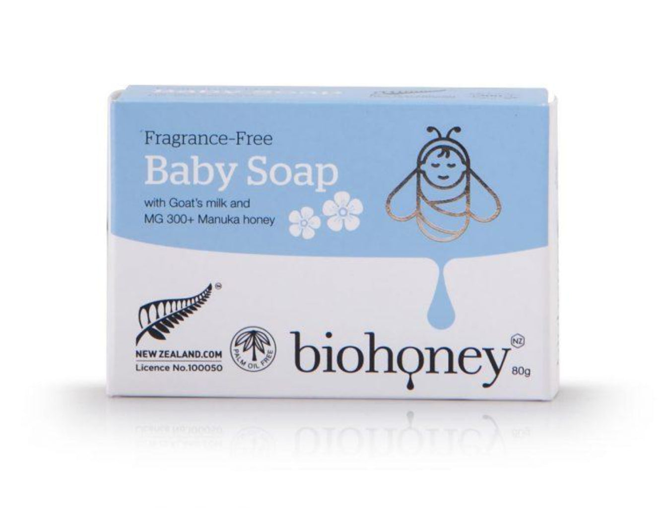Fragrance-Free Baby Soap - Babies & Kids | Biohoney