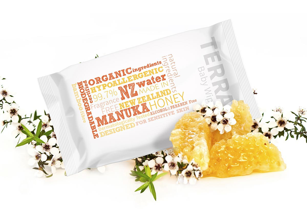 Manuka Honey Baby Wipes