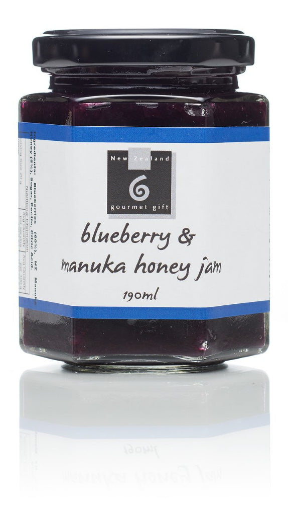 Blueberry & Manuka Honey Jam - Food & Drink | NZ Gourmet Gift