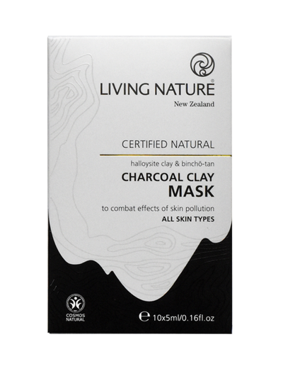 natural ingredients to combat to effect skin pollution, manuka honey & Bincho Tan Charcoal