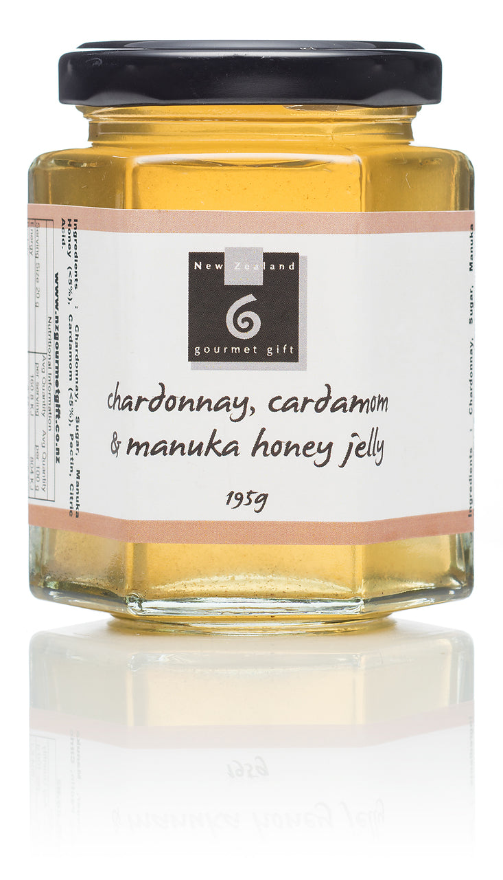 Chardonnay, Cardamom & Manuka Honey Jelly - Food & Drink | NZ Gourmet Gift