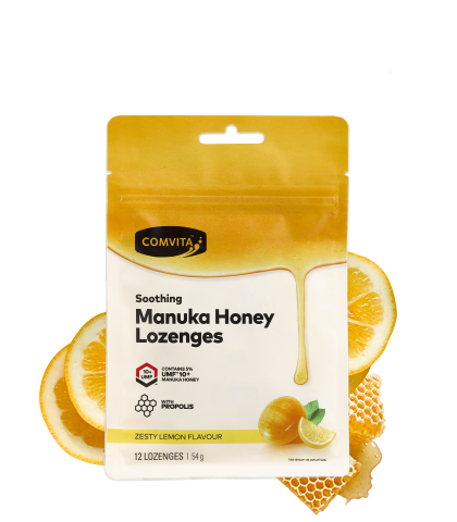 Manuka Honey Lozenges Lemon
