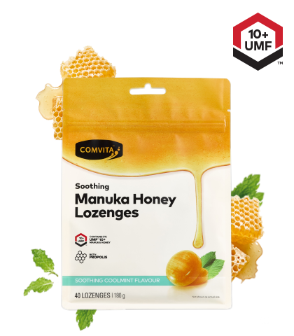 Comvita Soothing Manuka Honey Lozenges UMF 10+