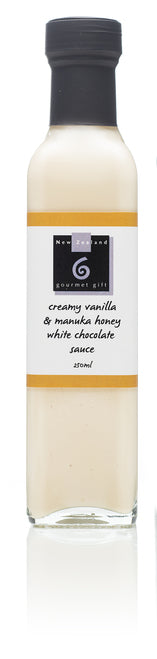 Creamy Vanilla & Manuka Honey White Chocolate Sauce