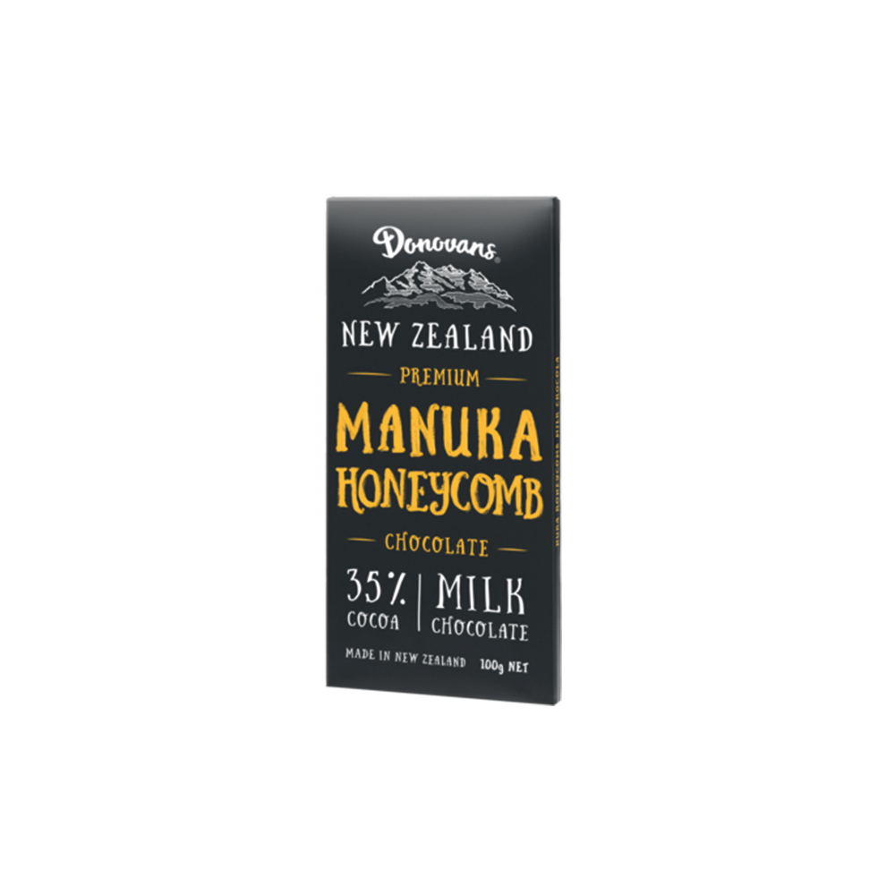 Manuka Honeycomb Milk Chocolate - Food & Drink | Donovans Chocolates
