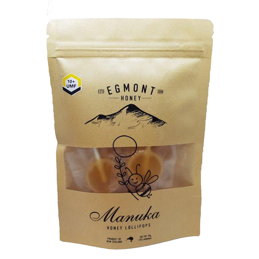 UMF 10+ Manuka Honey Lollipops - Health & Supplements | Egmont Honey