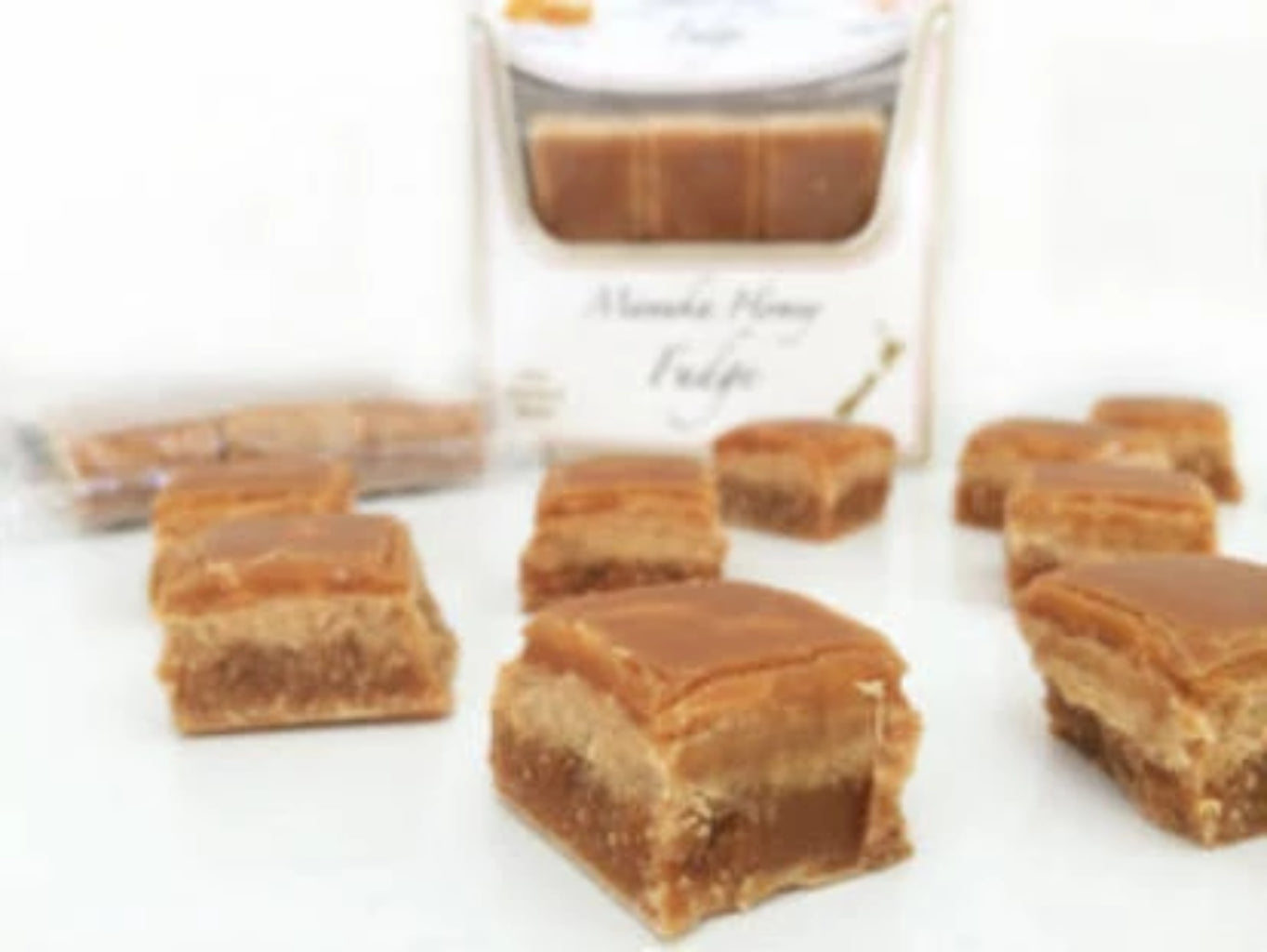 Manuka Honey Fudge - Food & Drink | Mossop's