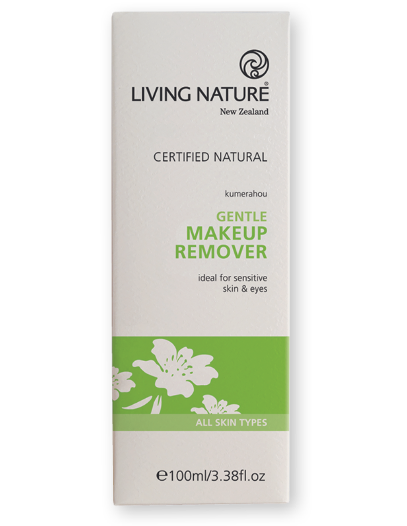 Fragrance free natural makeup remover for all skin types