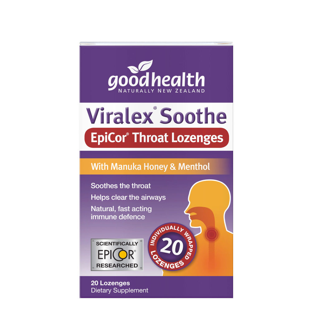 Viralex® Soothe EpiCor® Throat Lozenges - Health & Supplements | Good Health