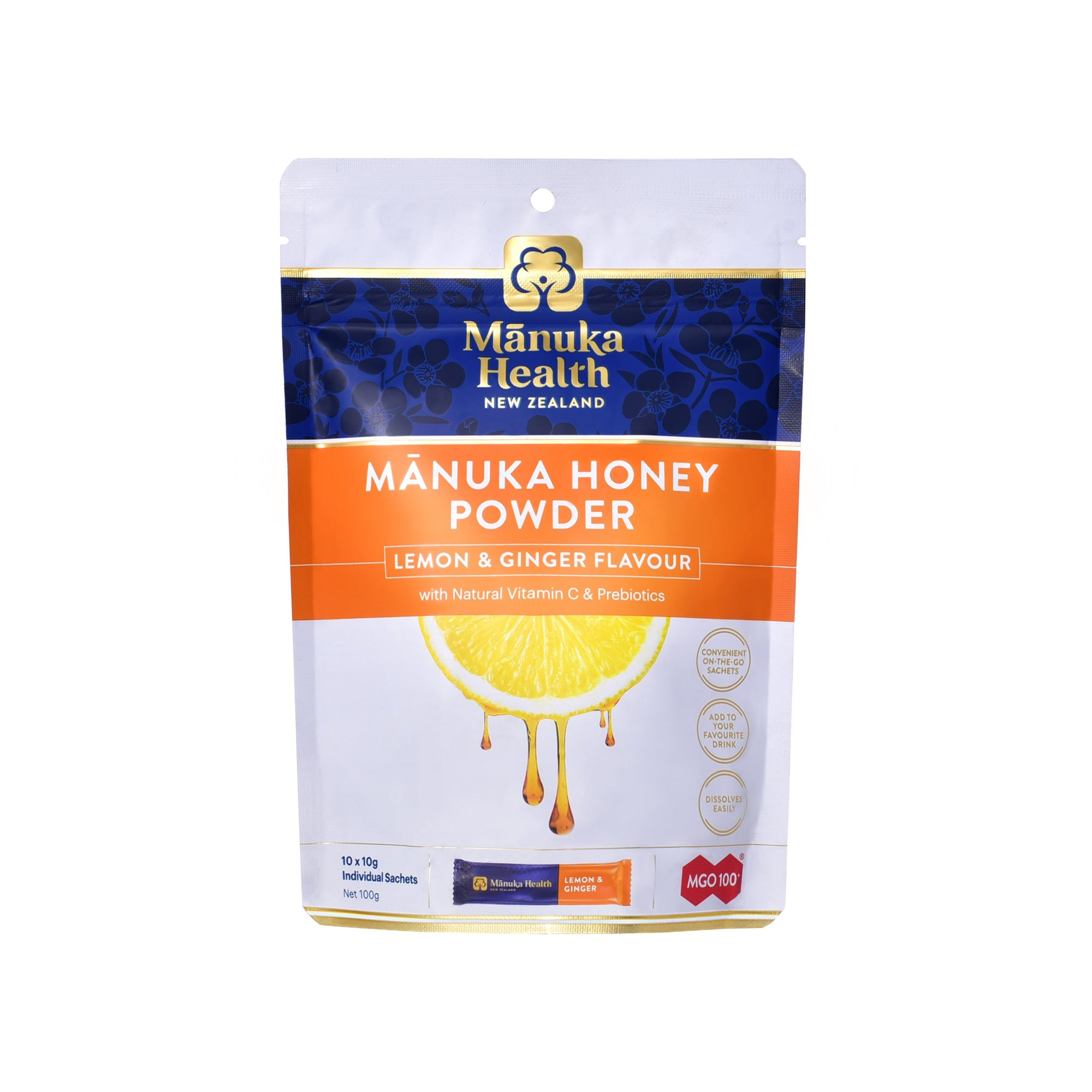 Manuka Health Power - Lemon & Ginger Flavour - Health & Supplements | Manuka Health