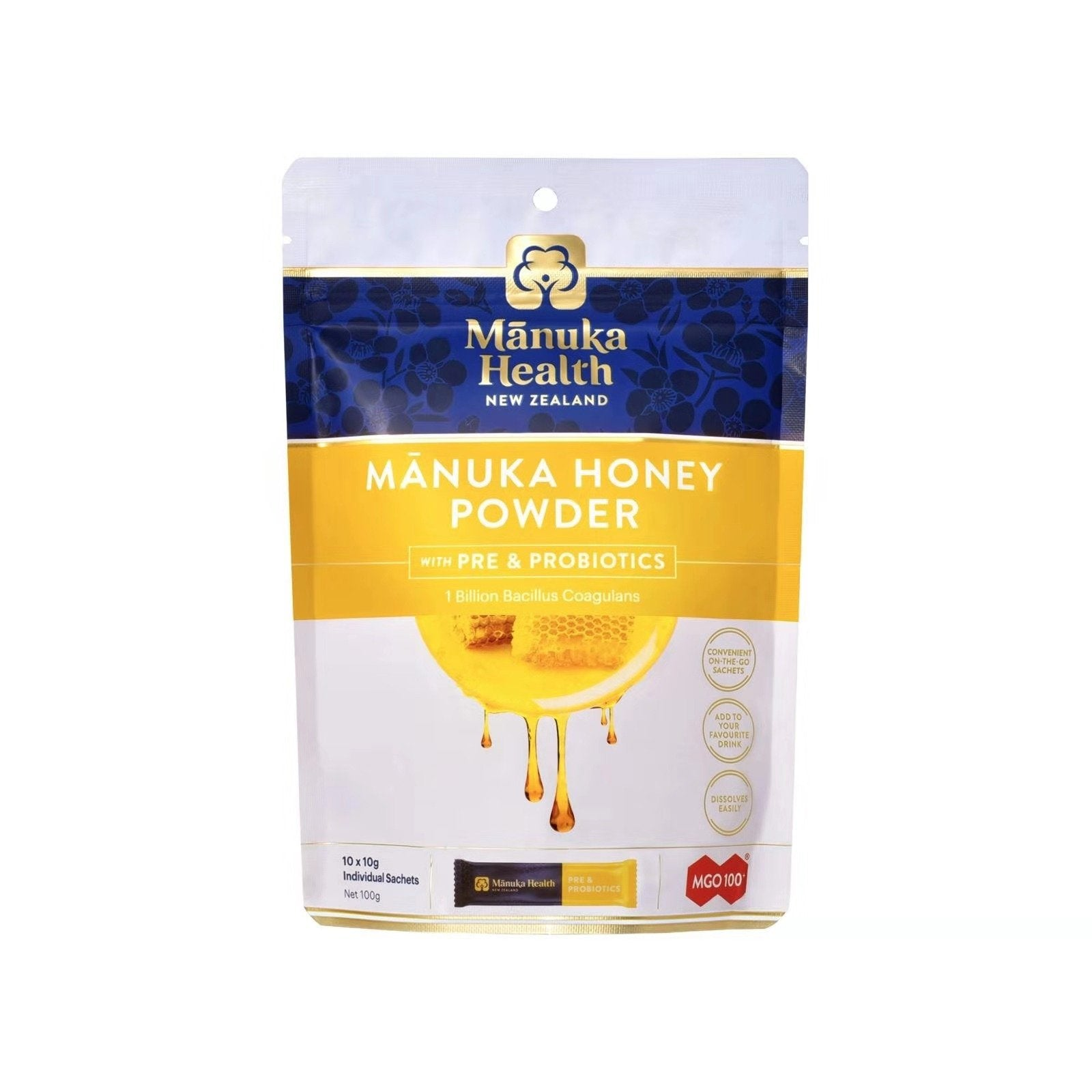Manuka Honey Powder - Pre & Probiotics - Health & Supplements | Manuka Health