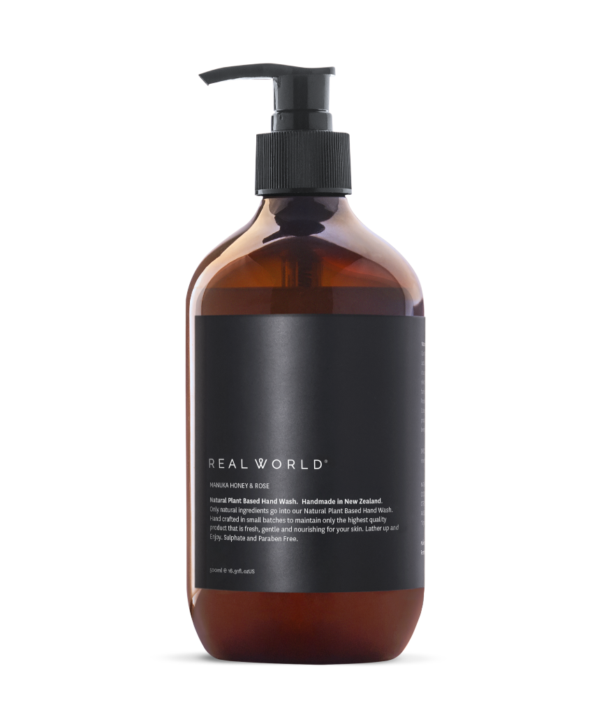 Manuka Honey & Rose Hand Wash - Face & Body | Real World