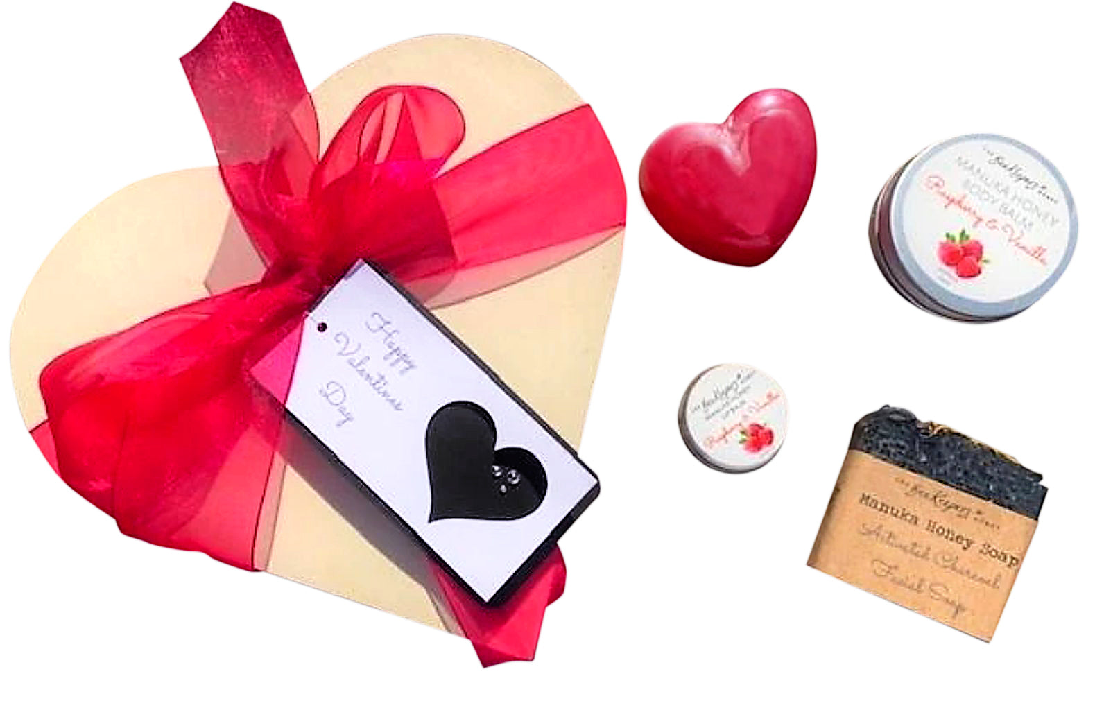 Heart Gift Box - Gift Baskets | The BeeKeepers Honey