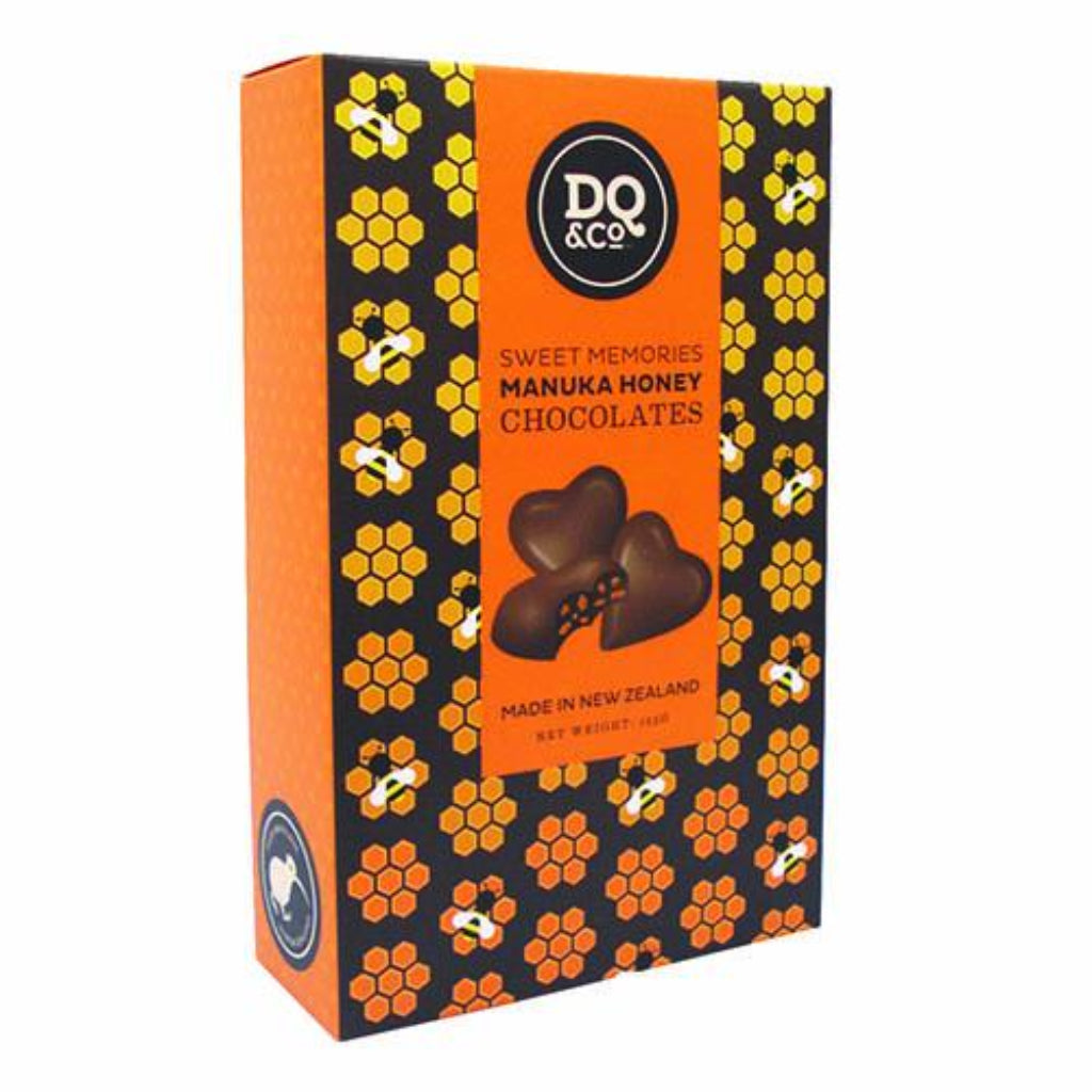 Chocolate Manuka Honey Hearts
