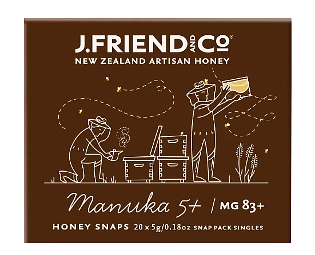 Manuka 5+ / MG 83+ Honey - Manuka Honey | J Friend & Co