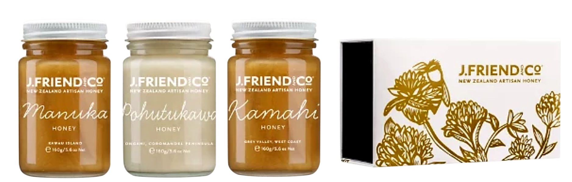 NZ Native Botanicals Collection Large - Manuka Honey | J Friend & Co