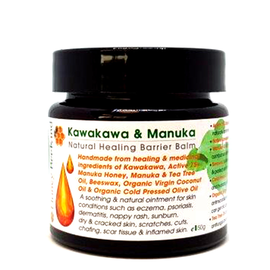 Kawakawa & Active 15+ Manuka Honey Barrier Balm - Face & Body | Bee Kind
