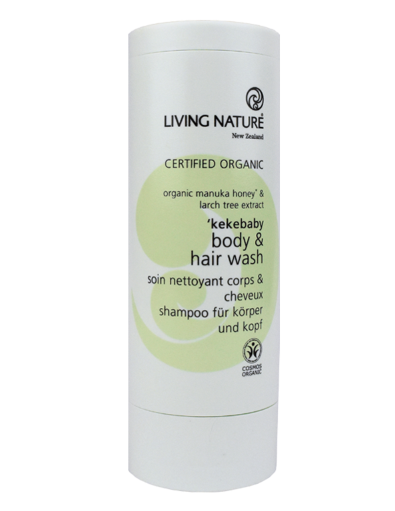 Baby Body wash & shampoo with Manuka honey & larch tree extract