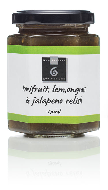 Kiwifruit, Lemongrass & Jalapeno Relish - Food & Drink | NZ Gourmet Gift