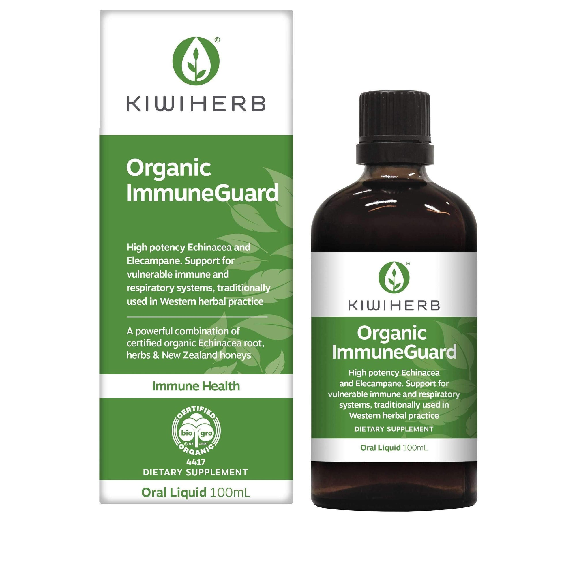 Organic ImmuneGuard - Health & Supplements | Kiwiherb