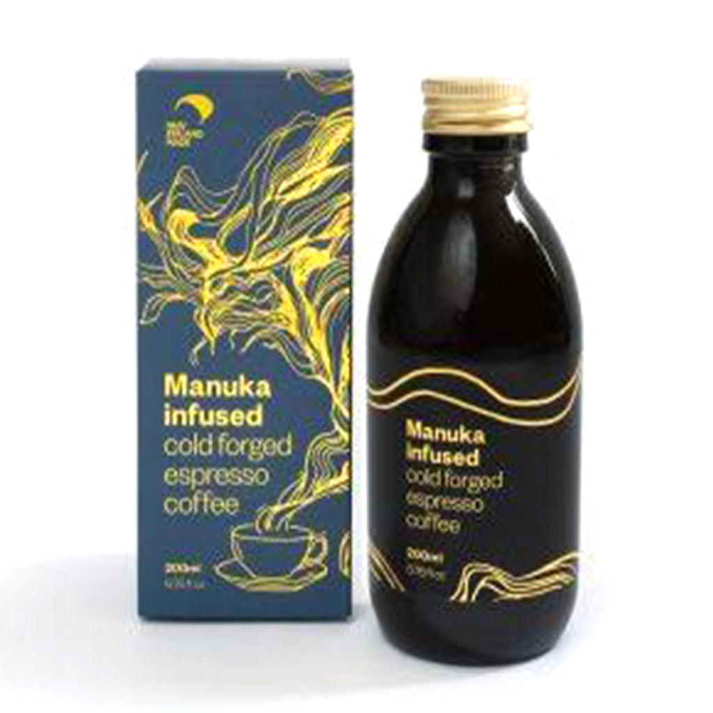 Manuka Infused Cold Forged Espresso Coffee