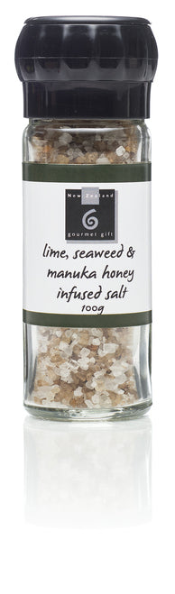 Lime, Seaweed & Manuka Honey Infused Salt - Food & Drink | NZ Gourmet Gift