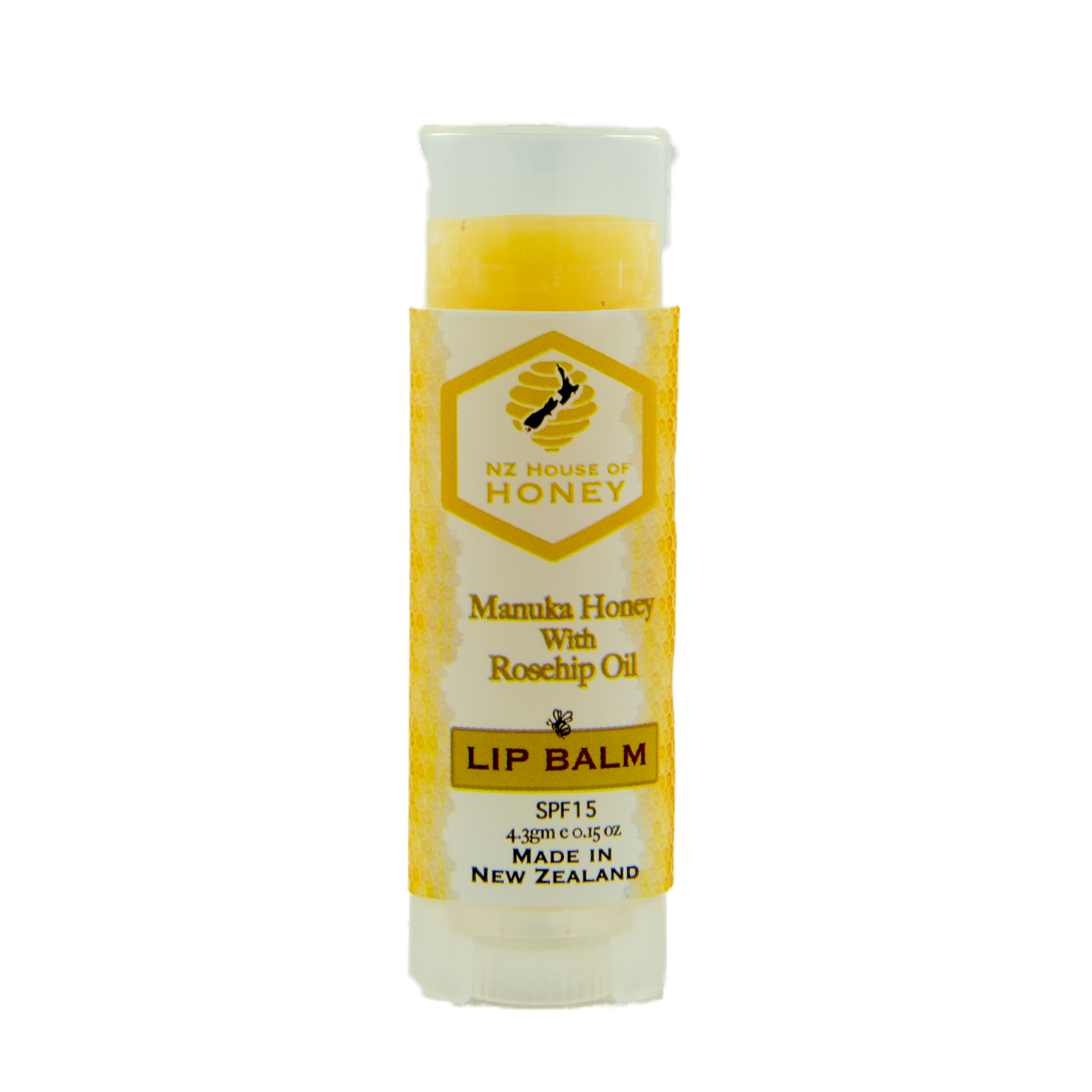 Lip Balm Stick with SPF15 - Manuka Honey of NZ