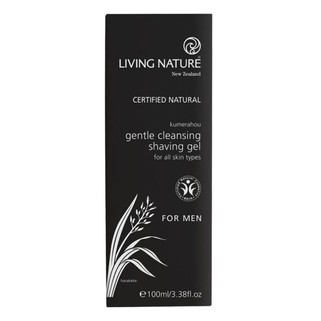 Gentle Cleansing Shaving Gel - Face & Body | Living Nature