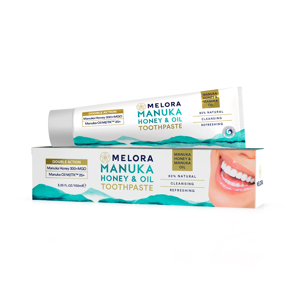 Manuka Honey & Oil Toothpaste -  | Melora