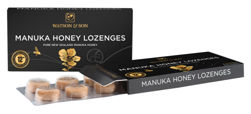 12+ MGS Manuka Honey Lozenges - Health & Supplements | Watson & Son