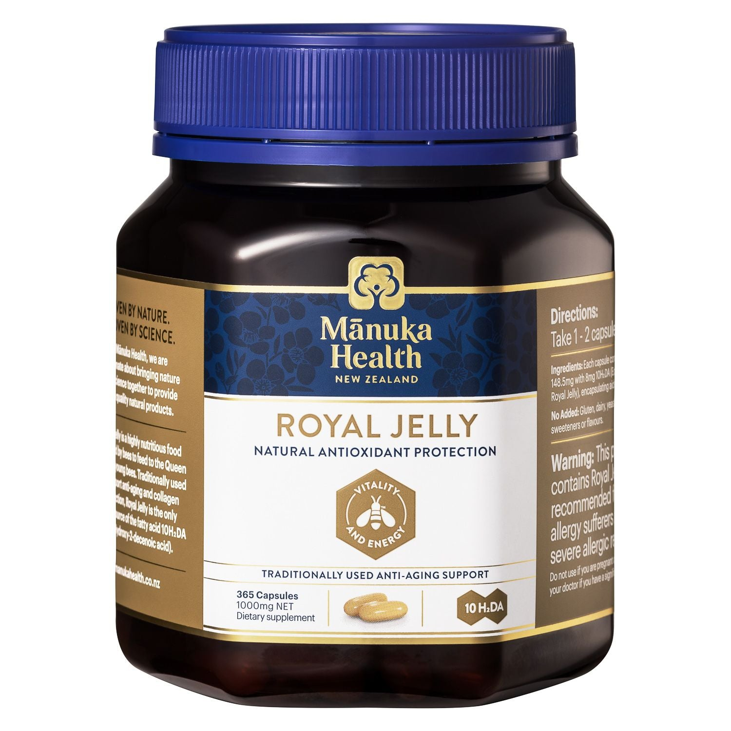 Royal Jelly Capsules - Health & Supplements | Manuka Health