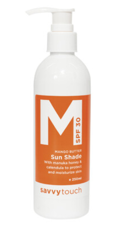 Mango Butter Sunshade - Face & Body | Savvy Touch