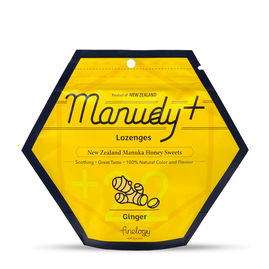 Manuka Honey Throat Lozenges - Food & Drink | Manudy+