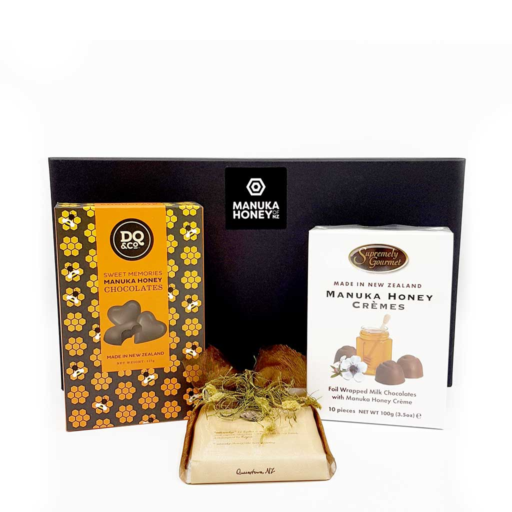 Gift Basket for Chocolate Lovers - Gift Baskets | Manuka Honey of NZ