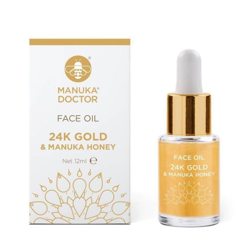 ApiRefine  24K Gold & Manuka Honey Face Oil