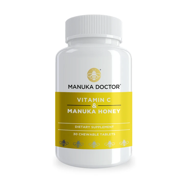 Vitamin C & Manuka Honey Chewable Tablets