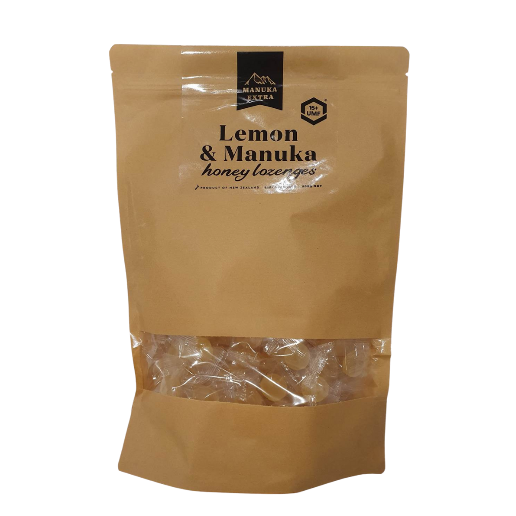 Manuka Honey UMF 15+ & Lemon Lozenges
