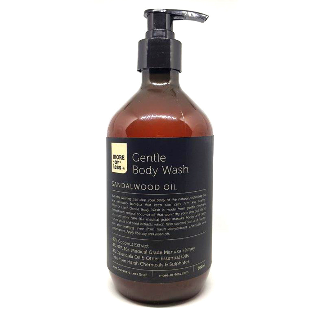 Gentle Body Wash - Face & Body | More-or-Less