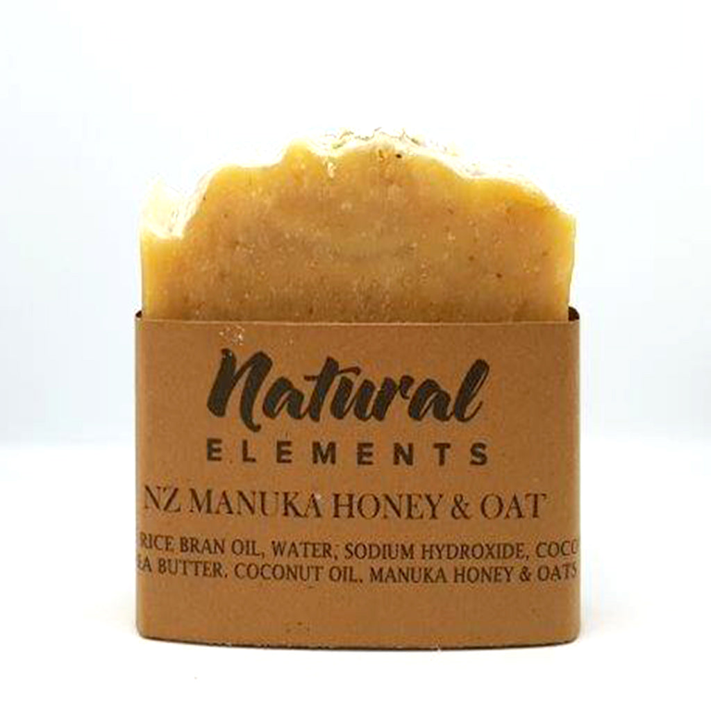 Manuka Honey & Oat Soap - Manuka Honey of NZ