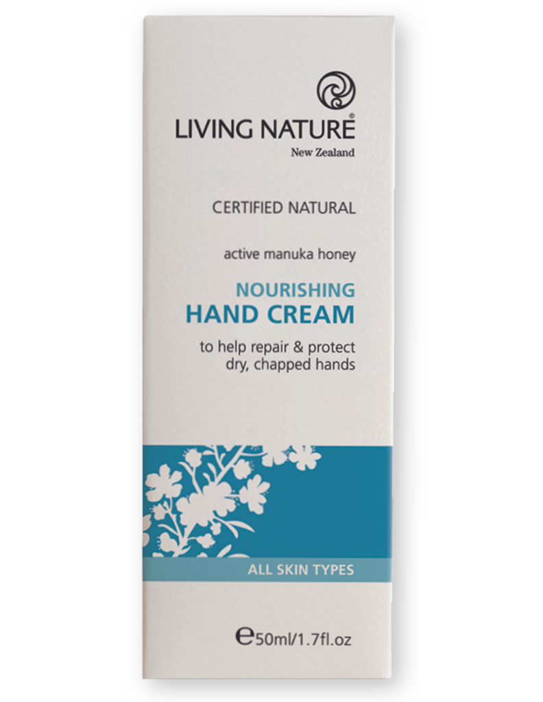 Hand cream with Manuka honey & Larch tree extract, helps repair & protect dry, chapped hands