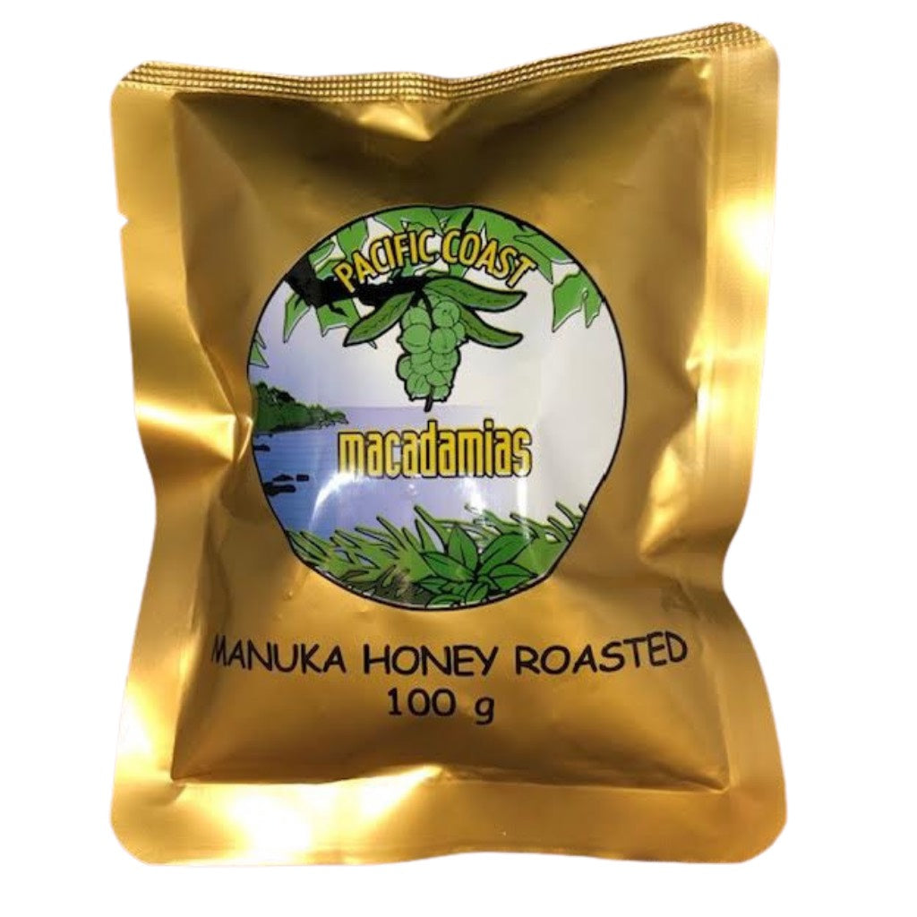 Manuka Honey Roasted Macadamias