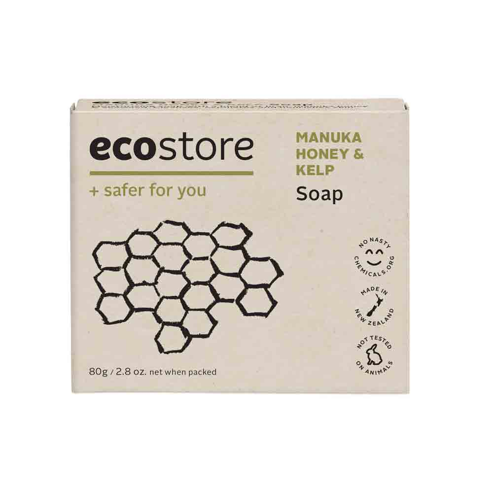 Manuka Honey & Kelp Soap 80g - Face & Body | Ecostore