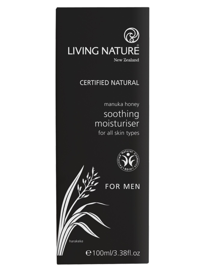 Natural, soothing moisturiser with manuka honey