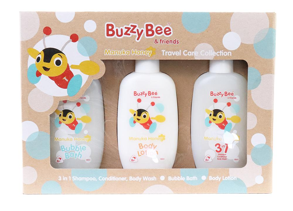 Manuka Honey Travel Care Collection - Babies & Kids | Buzzy Bee
