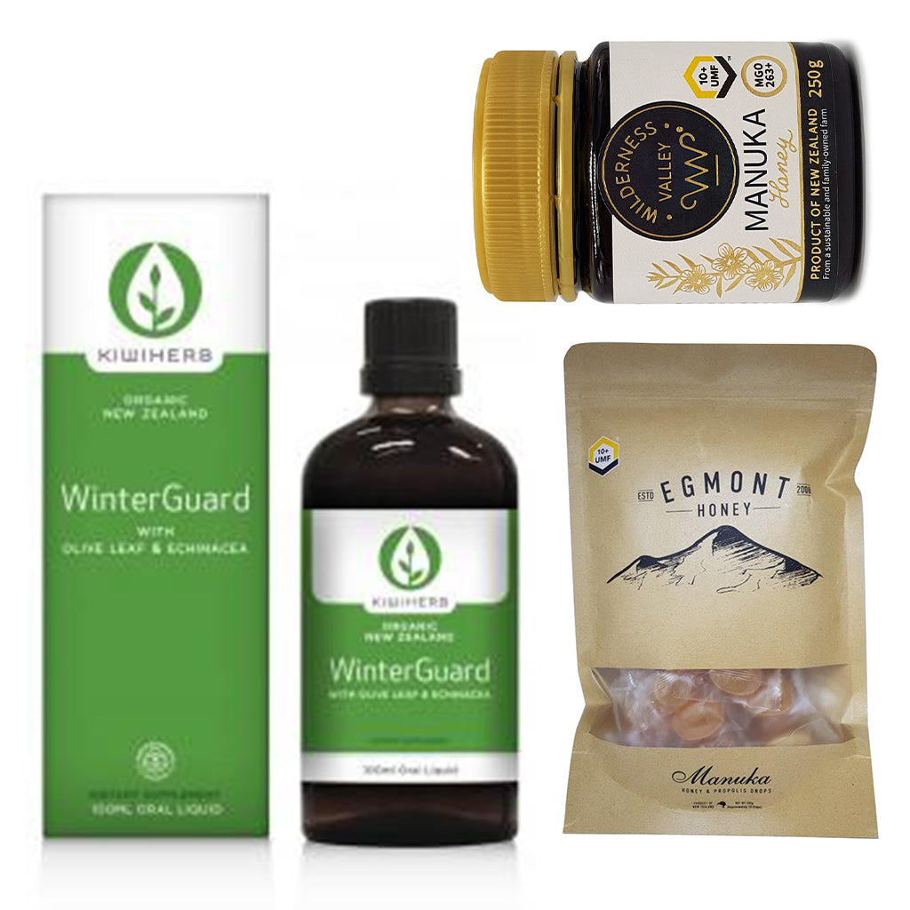 Winter Wellness Basket - Gift Baskets | Manuka Honey of NZ