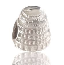 Sterling Silver Wellington Beehive Charm