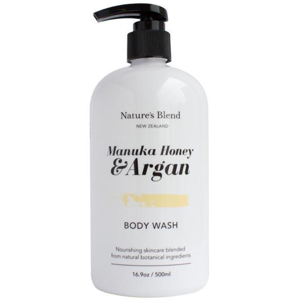 Manuka Honey & Argan Oil Body Wash - Face & Body | Nature's Blend