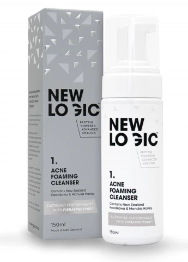 Acne Foaming Cleanser - Face & Body | New Logic
