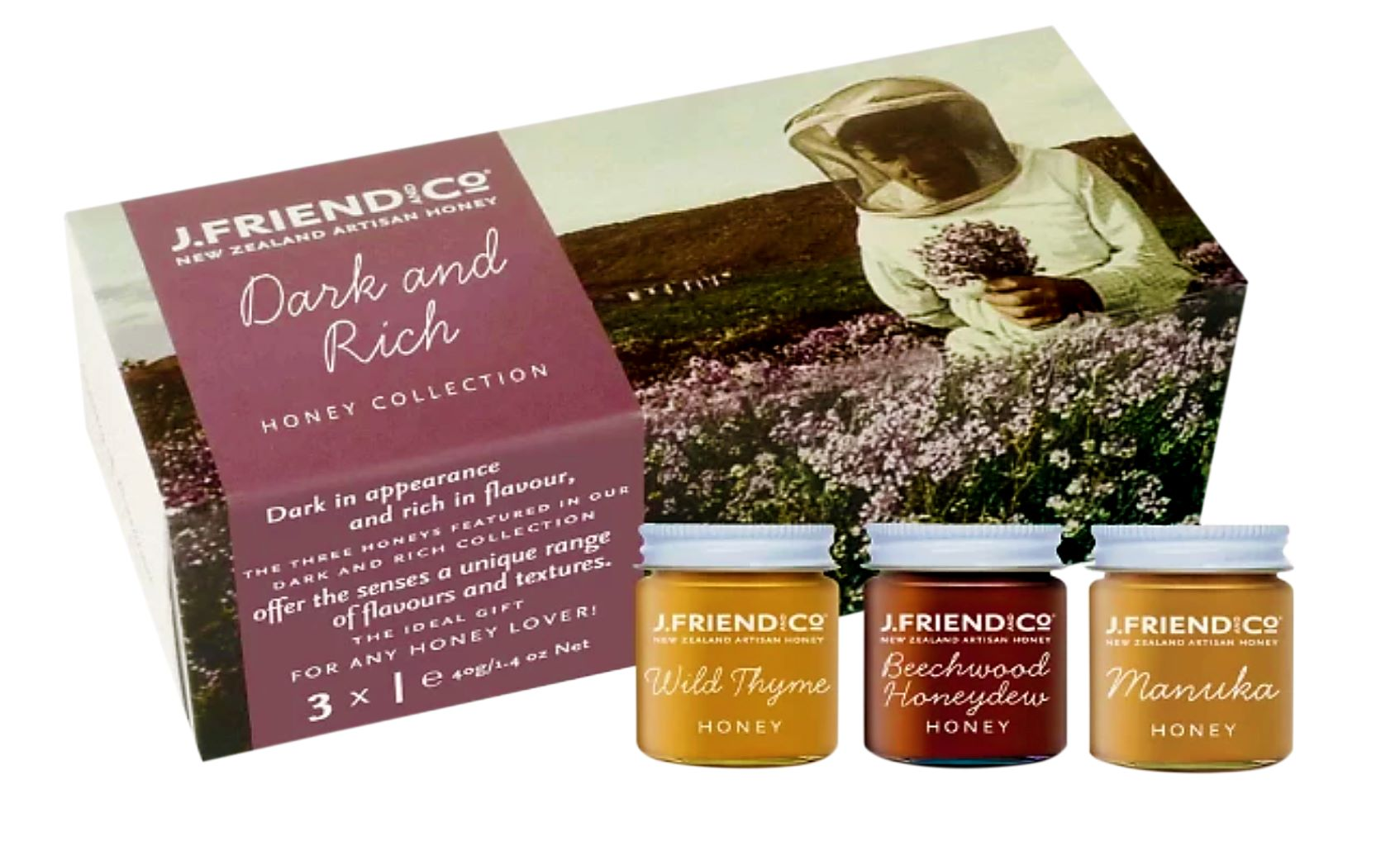 Dark and Rich Honey Collection - Manuka Honey | J Friend & Co