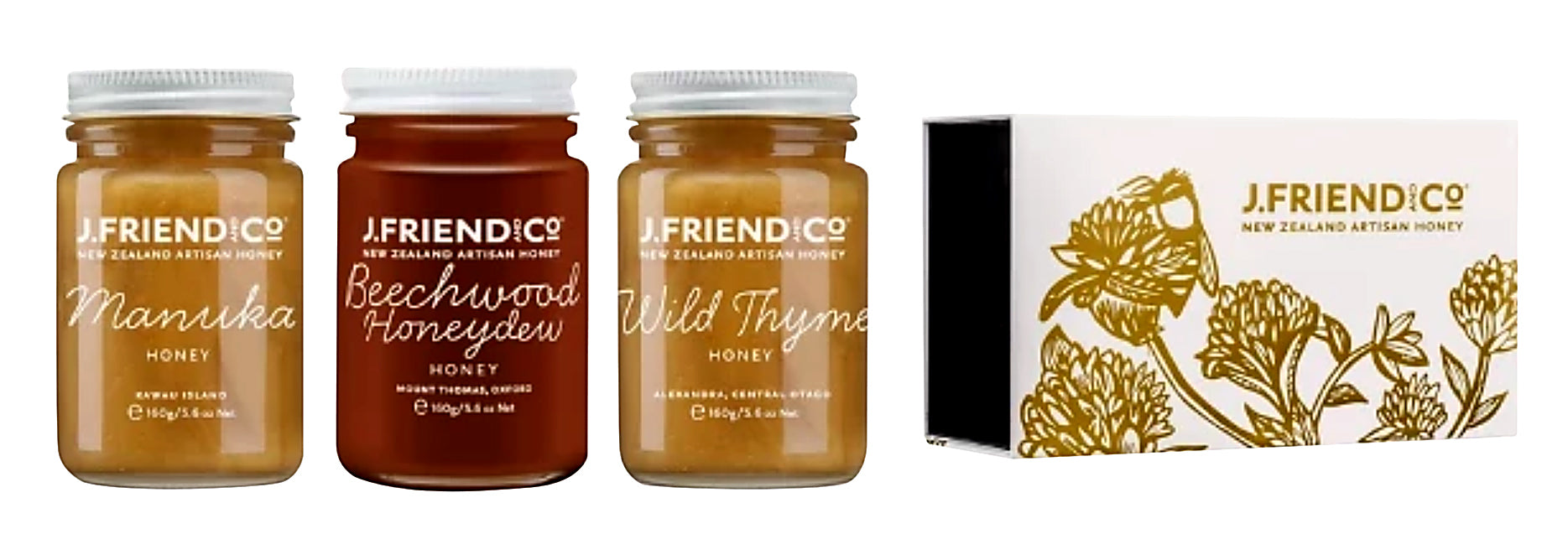 Dark and Rich Honey Collection Large - Manuka Honey | J Friend & Co